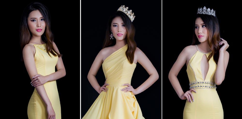 Hoa khôi Như Hảo kiêu sang với váy dạ hội Tommy Nguyễn