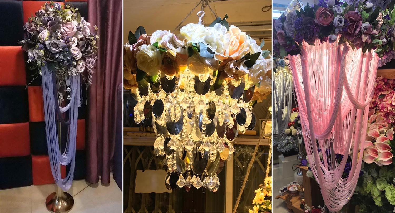 Sang trọng và cuốn hút với đèn hoa trang trí Cao Nguyễn Flowers