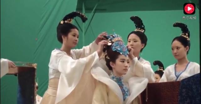 """Hình ảnh Lưu Diệc Phi xinh đẹp trong """"Tam sinh tam thế"""" bị cắt bỏ"""