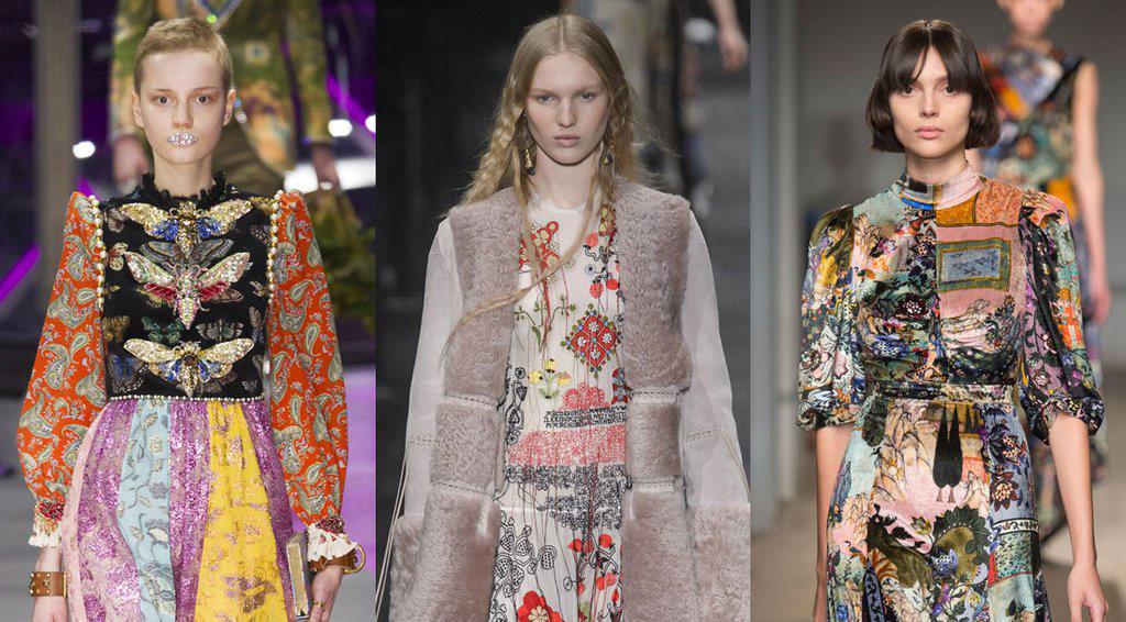 9 xu hướng trên sàn diễn thời trang mùa thu 2017