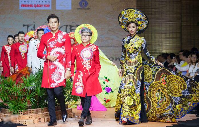 """BST """"Dấu Vàng Son"""" của NTK Tommy Nguyễn nổi bật trong đêm diễn"""
