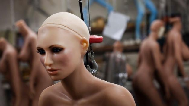 """Phần mềm """"cấy não"""" cho robot tình dục"""