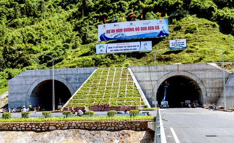 Miễn phí đi qua hầm Đèo Cả đến ngày 2-9