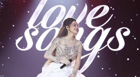 """Hậu đêm nhạc Love song, Hồ Ngọc Hà gỡ mác """"ca sĩ hát thều thào"""""""