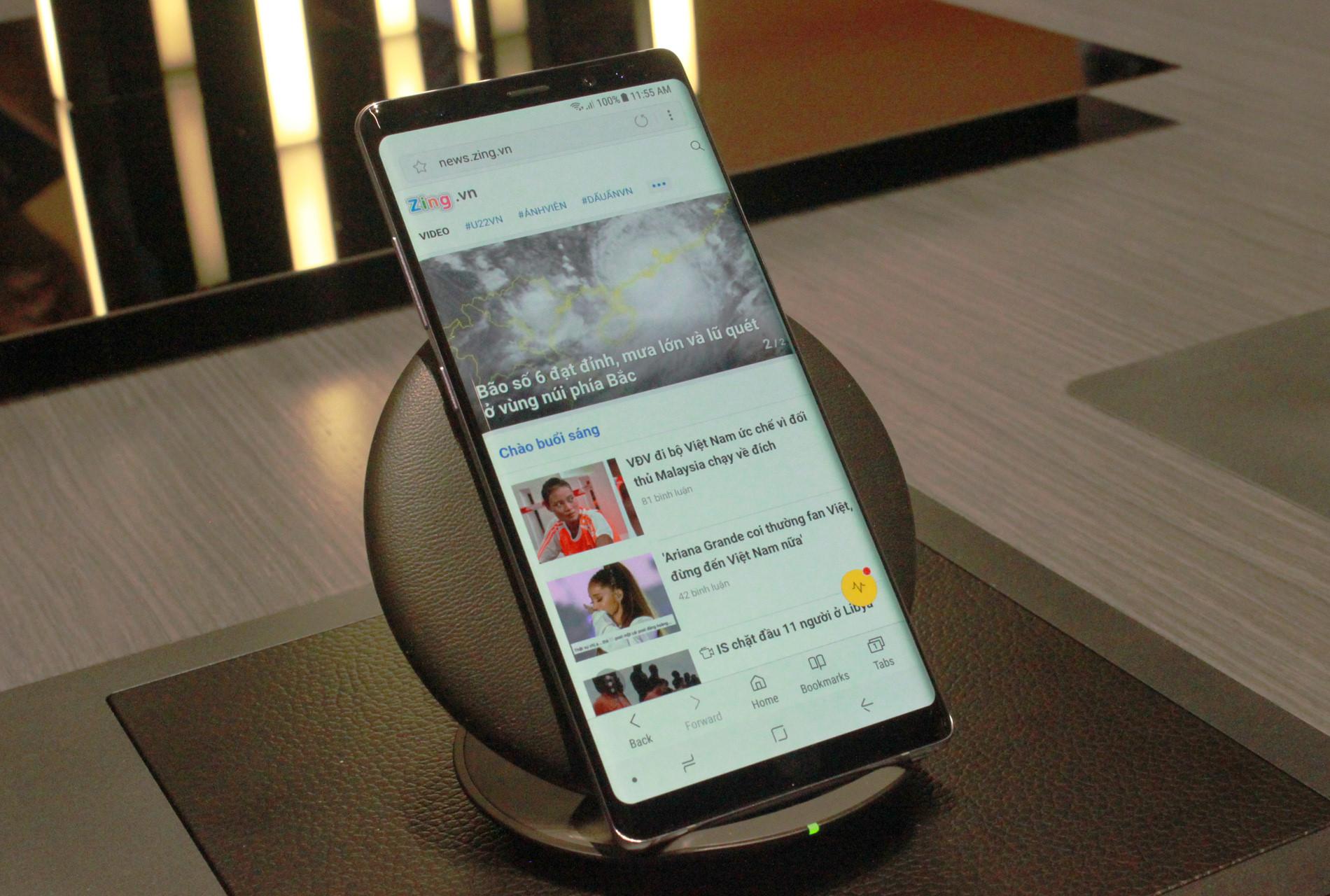 Ảnh thực tế Samsung Galaxy Note 8