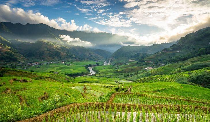 Những thửa ruộng bậc thang tuyệt đẹp khắp châu Á