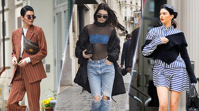 Những bộ cánh xứng danh biểu tượng thời trang của Kendall Jenner