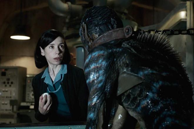 Phim 18+ về chuyện tình giữa cô gái và quái vật được khen ngợi