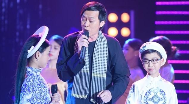 Hoài Linh hỗ trợ học trò em trai đăng quang Tuyệt đỉnh song ca nhí