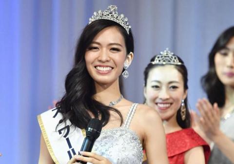 Nhan sắc 21 tuổi đăng quang Hoa hậu thế giới Nhật Bản 2017