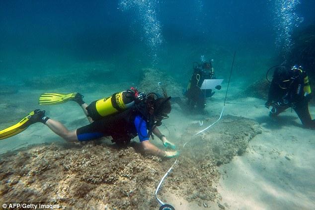 Tìm thấy thành phố cổ bị chôn vùi đưới đáy biển hơn 1,600 năm