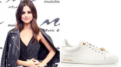 Bóc giá BST sneakers trắng khiến mọi cô gái thèm muốn của Selena Gomez