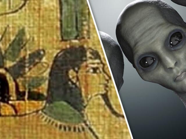 Người Ai Cập cổ đại từng gặp người ngoài hành tinh?