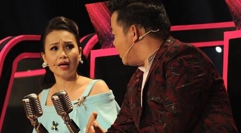 Cẩm Ly, Mr. Đàm nhắc nhở Quang Lê trên trường quay gameshow