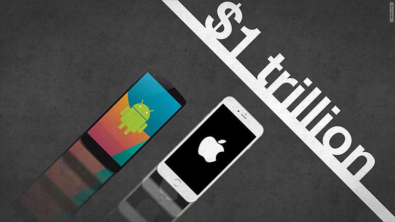 iPhone sắp cán mốc doanh thu 1.000 tỷ USD