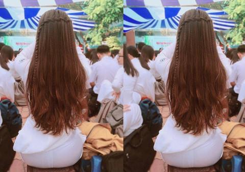 Nữ sinh Sài Gòn bất ngờ vì ảnh chụp sau lưng được chia sẻ trên mạng
