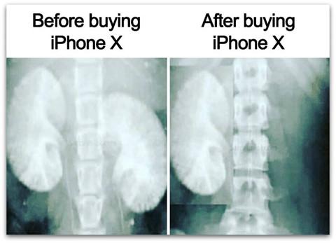 """Ảnh chế khi iPhone X ra mắt """"lầy lội"""" của dân mạng thế giới"""