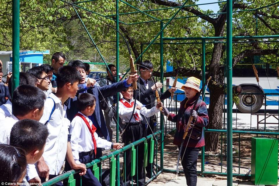 Bên trong những công viên giải trí ở Triều Tiên