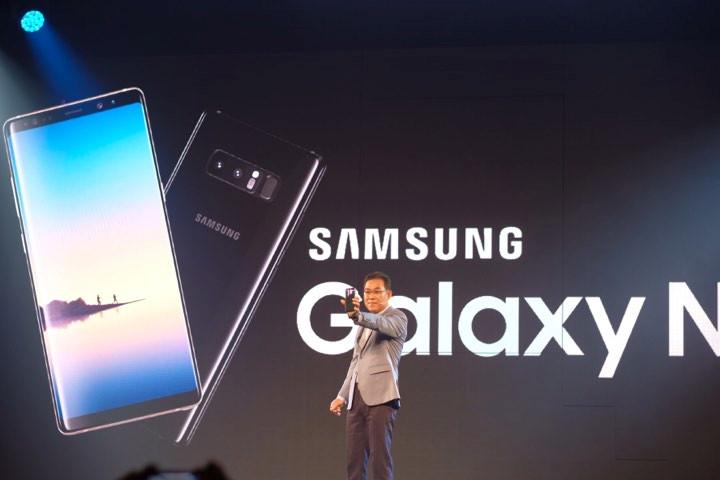 Galaxy Note 8 ra mắt tại Việt Nam với giá 22,5 triệu đồng