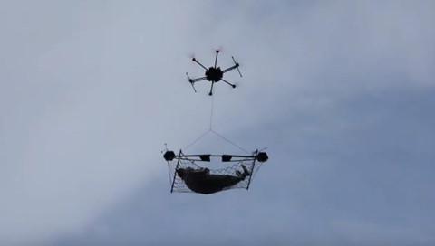 Drone chở được người sẽ trông như thế nào?