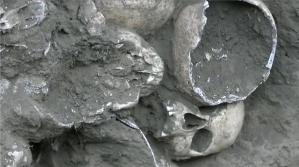 Người đàn ông hoảng hốt phát hiện... 200 hộp sọ ngay trong vườn nhà