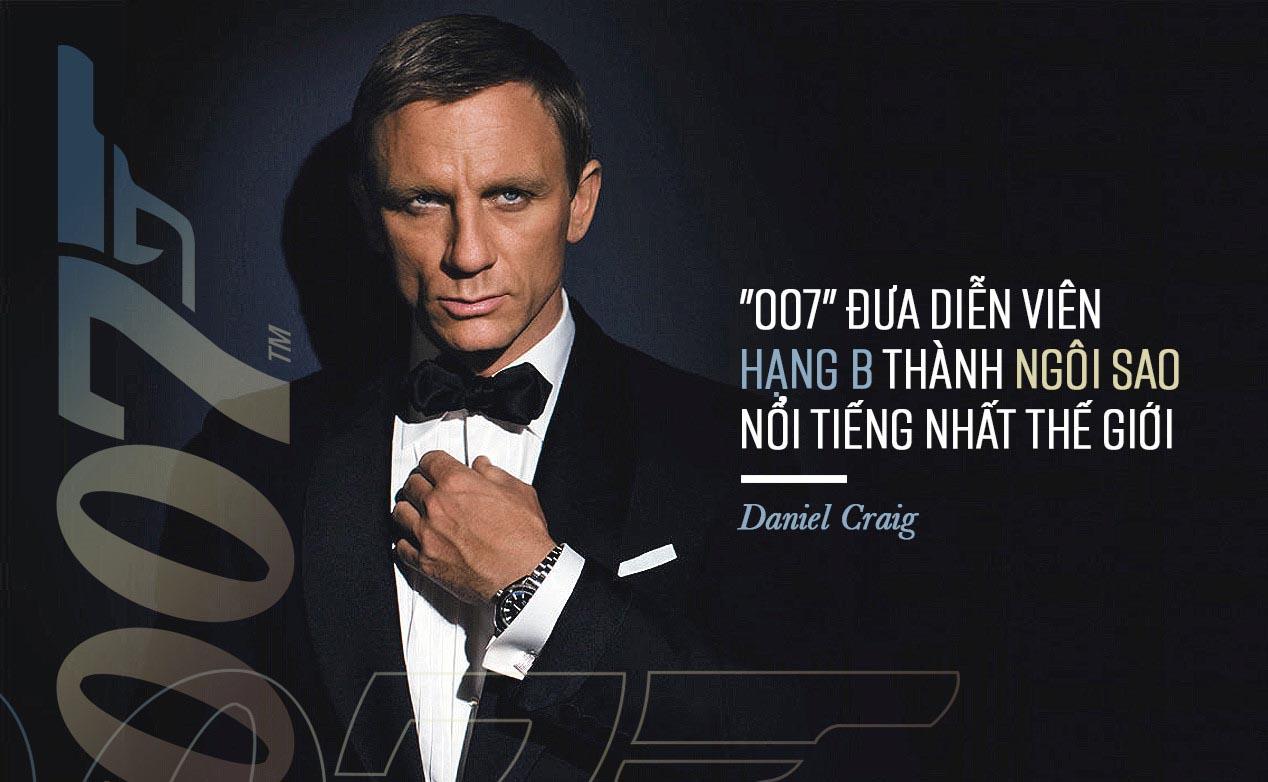 """Daniel Craig: Sau 10 năm mới chịu thoát xác """"điệp viên 007"""""""
