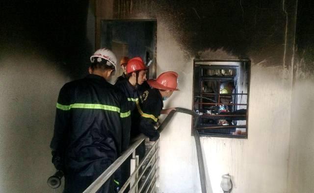 4 người thoát nạn trong vụ cháy nhà ở Huế