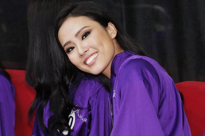 Thí sinh giống Trương Thị May vào top 10 bán kết Hoa hậu Hoàn vũ