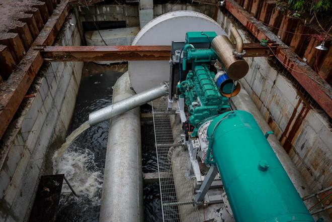 TP.HCM dự kiến thuê 'siêu máy bơm' chống ngập giá 12 tỷ đồng/năm