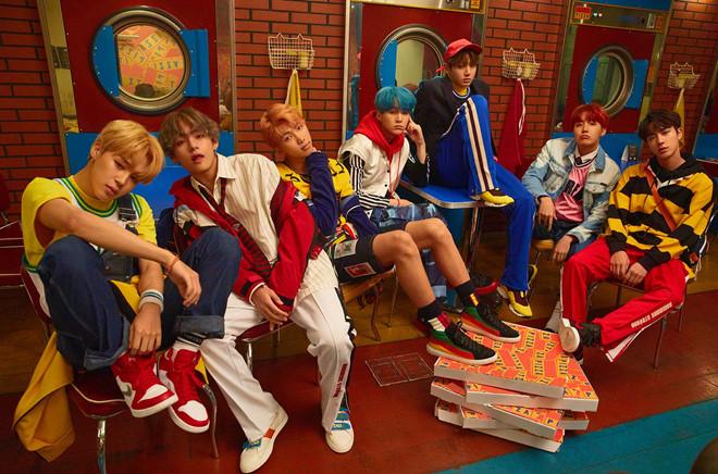 BTS lần đầu lọt bảng xếp hạng Billboard Hot 100