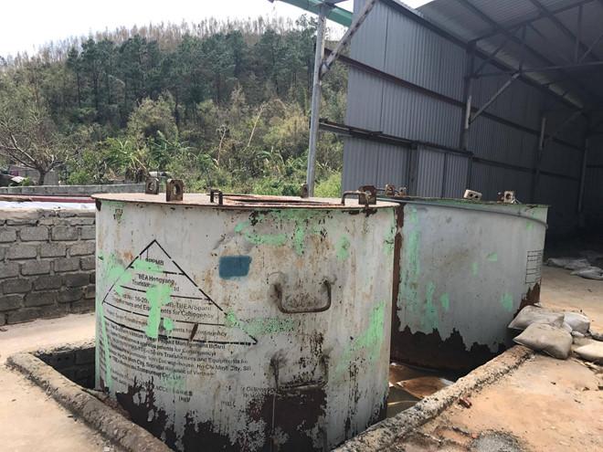 Đề xuất xử lý kho hóa chất phát lộ sau bão số 10