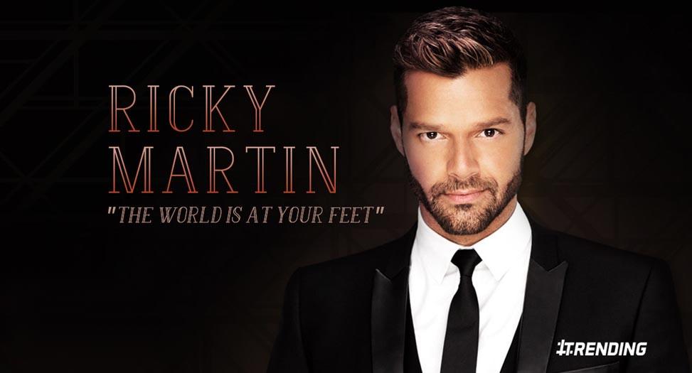 9 điều cần biết về ca sĩ Ricky Martin