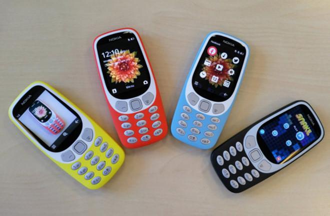 Nokia 3310 có thêm bản 3G