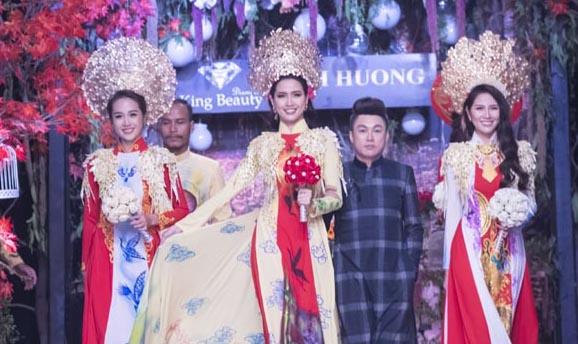 """Người đẹp như """"nữ hoàng"""" kiêu sang với Áo dài cưới Tommy Nguyễn"""