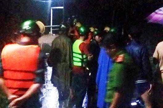 Một người bị nước cuốn mất tích trong đêm ở Đồng Nai
