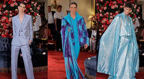 Bộ sưu tập phá vỡ chuẩn mực thời trang nam giới gây tranh cãi