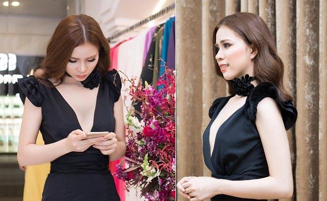NTK Luxy Nguyen khoe vẻ đẹp kiêu sang và gợi cảm