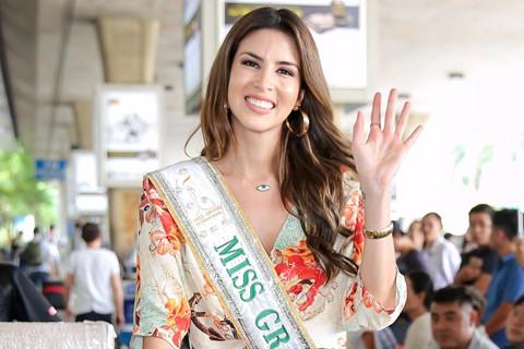 Dàn thí sinh Hoa hậu Hòa bình Thế giới 2017 có mặt ở TP.HCM