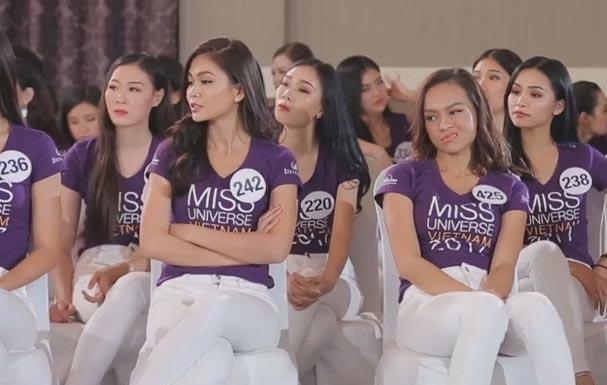 HHHV 2017: Phạm Hương bực mình vì nhiều thí sinh vô kỷ luật