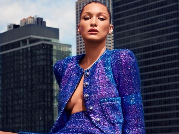 Diện áo khoác vải tweed đầu mùa ấn tượng như sao Hollywood