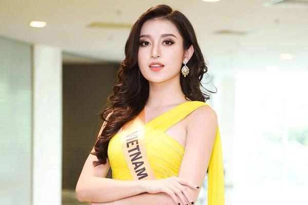 Huyền My thuộc nhóm thí sinh gây bất ngờ ở Hoa hậu Hòa bình 2017
