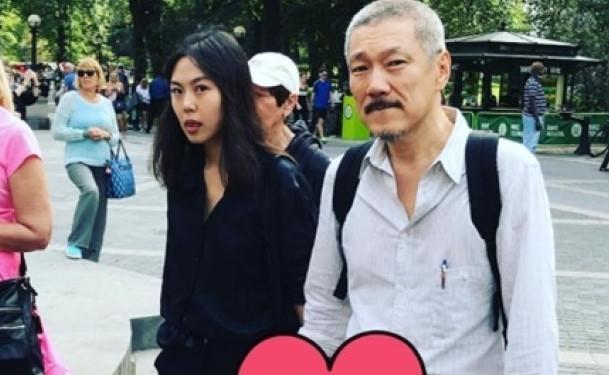 """Cặp sao """"chú, cháu"""" Hàn Quốc đến Mỹ hẹn hò né truyền thông"""