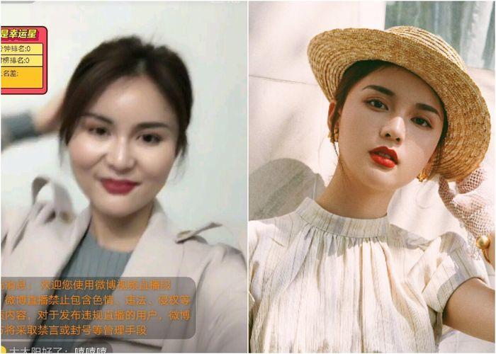 Lộ nhan sắc thật gây sốc, hot girl Trung Quốc bị hàng nghìn fan hâm mộ quay lưng