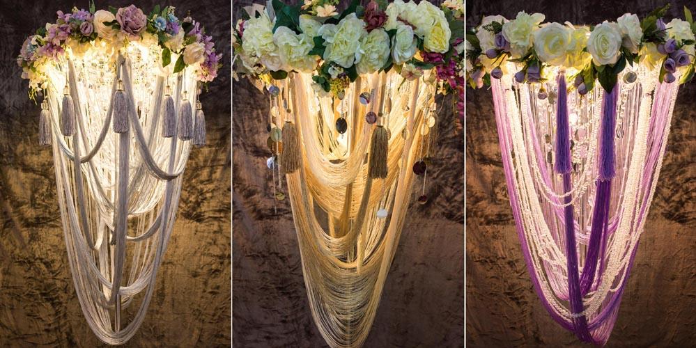 Tạo không gian sang trọng và quý phái với đèn chùm cao cấp Cao Nguyễn Flowers