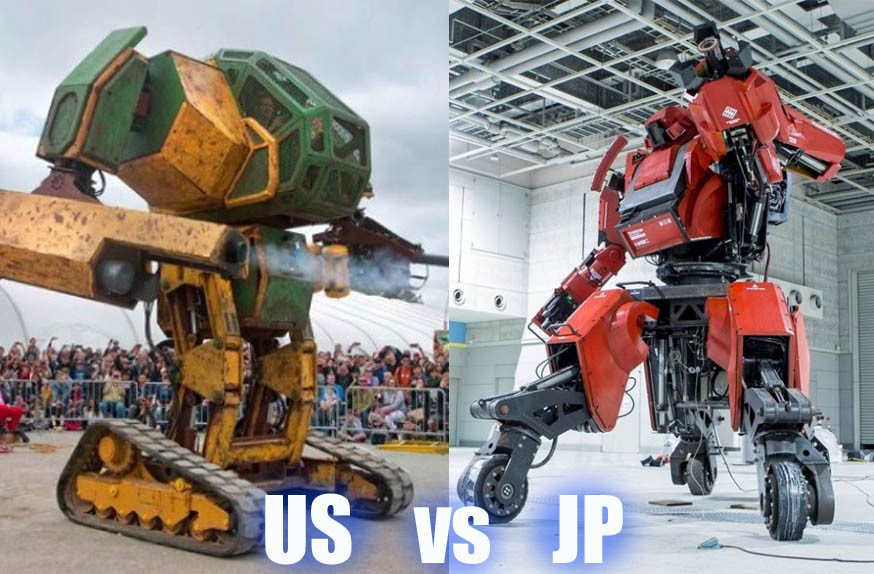 Cuộc đấu tay đôi giữa những robot khổng lồ