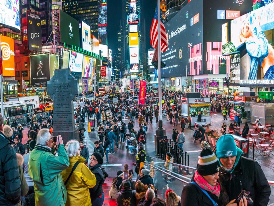 12 địa điểm đông người nhất thế giới