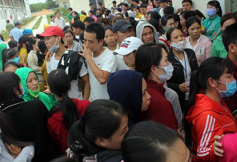Hơn 500 công nhân dệt may đình công