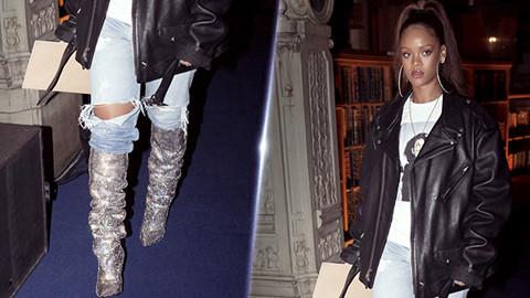 Những kiểu giày độc lạ gắn mác Rihanna