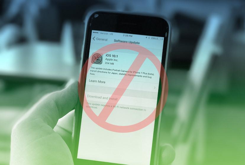 """""""Thà iPhone hỏng, nhất quyết không lên iOS 11"""""""
