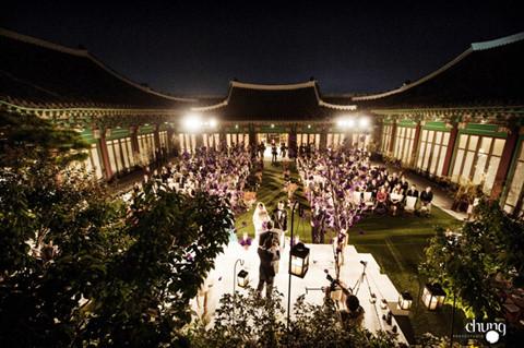Không gian cưới sang trọng của Song Hye Kyo - Song Joong Ki